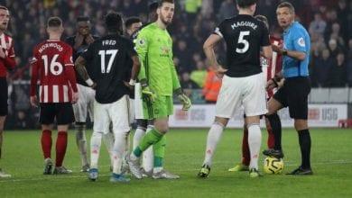 Photo de Manchester United match nul contre Sheffield United