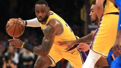 Photo of Triple-double history for King James as Lakers roll Thunder