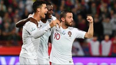 Photo de Euro-2020: le Portugal bat  la Lituanie (6-0)