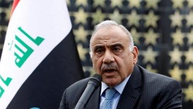 صورة رئيس الوزراء العراقي: قدمت استقالتي للبرلمان بعد استشارة رئيس المحكمة الاتحادية