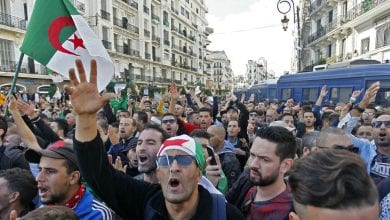 Photo of Algerians take to streets, call for 'new revolution' on independence anniversary