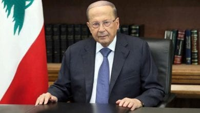 Photo of Lebanon's president meets bankers amid liquidity crisis