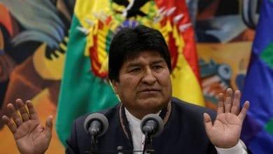 Photo de La démission du Président bolivien Evo Morales