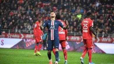 Photo de Ligue 1: Le Paris Saint-Germain s'incline face à Dijon 2-1