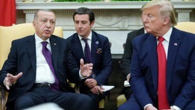 صورة أردوغان يدافع عن حلف الناتو ويعلق على انتقاد ماكرون للحلف