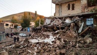 Photo of Five killed, 120 injured in Iran earthquake
