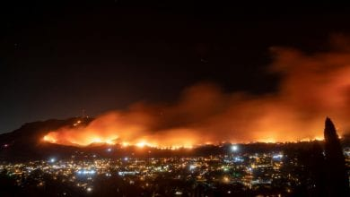 Photo of New California fire grows as crews make headway on other blazes