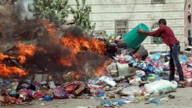 Photo of Garbage crisis brings cholera to Yemen's historic Taez