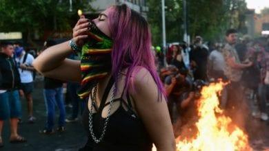 Photo de Les manifestations se poursuivent malgré la rencontre du gouvernement chilien et l'opposition
