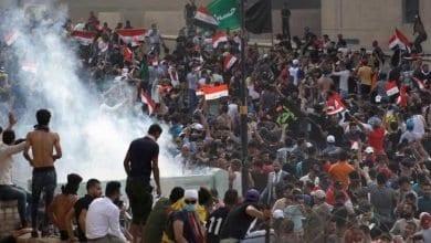Photo de Quatre manifestants morts par les forces de sécurité irakiennes