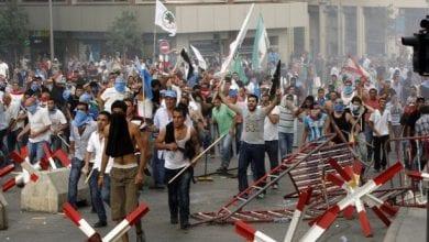 Photo de L'interview du président Michel Aoun a provoqué l'ire des manifestants