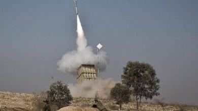Photo de Israël a intercepté quatre roquettes tirées depuis la Syrie