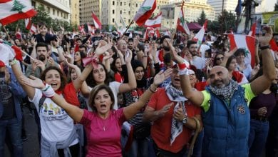 Photo of Lebanon's Anti-Government Protesters Call for General Strike