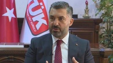 Photo of Head of Turkey's media watchdog resigns from Türksat board