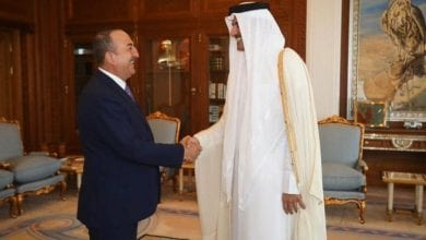 Photo of Turkey's FM thanks Qatar Emir for 'support' to military operation in Syria