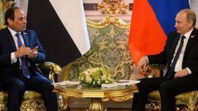 صورة الأزمة الليبية محور اتصال الرئيس السيسي ونظيره الروسي فلاديمير بوتن