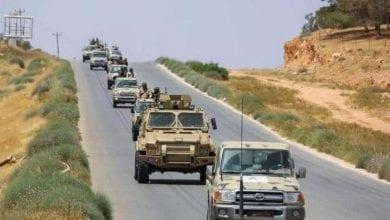 صورة المشير حفتر يأمر الجيش الليبي بالتقدم الحاسم نحو طرابلس