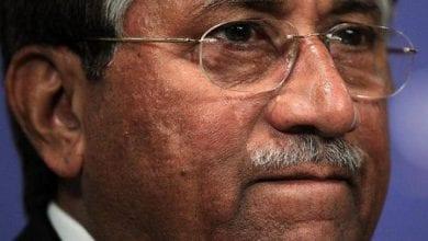 صورة الإعدام للرئيس الباكستاني السابق برويز مشرّف والجيش يدين الحكم