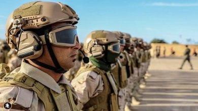 صورة نصف كيلو متر تفصل الجيش الليبي عن مركز العاصمة طرابلس