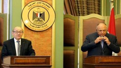 صورة مصر وفرنسا تؤكدان عدم مشروعية اتفاق حكومة السراج مع تركيا