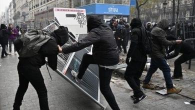 صورة استمرار الإضراب لليوم العاشر في فرنسا رفضاً لمشروع اصلاح نظام التقاعد وتظاهرات في عدة مدن