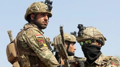 صورة قتيلين وخمسة جرحى من الجيش العراقي جراء انفجار عبوات ناسفة في الموصل