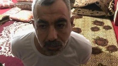 صورة نائب أبو بكر البغدادي في قبضة الشرطة العراقية