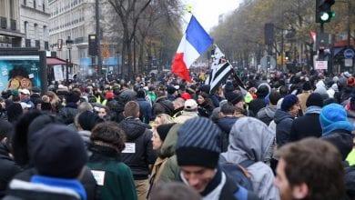 صورة فرنسا: الإسبوع الثاني من التعبئة ضد إصلاح نظام التقاعد ومظاهرات في 17 ديسمبر المقبل