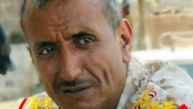 صورة بصمات الإخوان على جريمة قتل قائد اللواء 35 مدرع في مدينة تعز اليمنية
