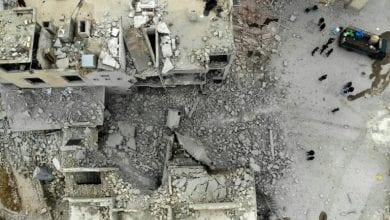 صورة مقتل نحو 70 عنصراً  خلال اشتباكات بين الجيش السوري وفصائل إرهابية في إدلب