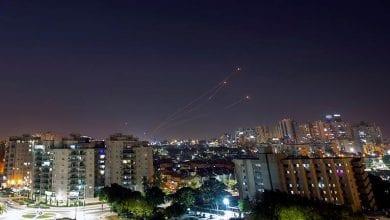 صورة الطيران الحربي الإسرائيلي يشن هجمات على قطاع غزة