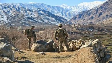 صورة الجيش الأميركي يشن غارة جوية على مقاتلي حركة طالبان في أفغانستان