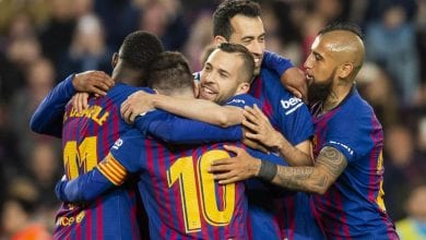 Photo de Le FC Barcelone a battu Alavés (4-1)