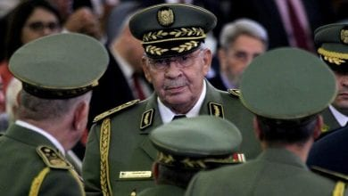 Photo of Algerian army chief Ahmed Qaid Saleh dies