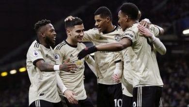 Photo de Manchester United bat Burnley en Premier League