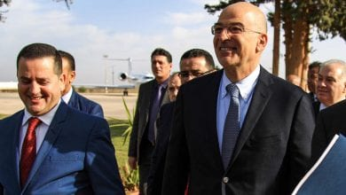 Photo of Greek foreign minister makes whirlwind regional tour amid tensions with Turkey following Ankara's contentious maritime deal with the Tripoli government