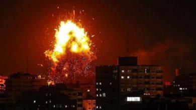 Photo of Israeli jets strike Gaza after rocket forces Netanyahu to seek shelter