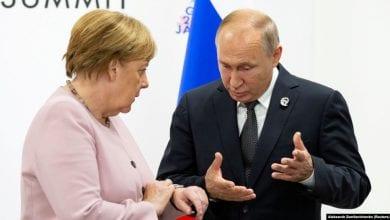 Photo of Merkel, Putin Discuss Nord Stream 2, Libya, Syria, And Ukraine
