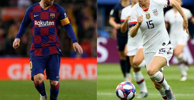 Photo of Messi and Rapinoe expected to take Ballon d'Or honours