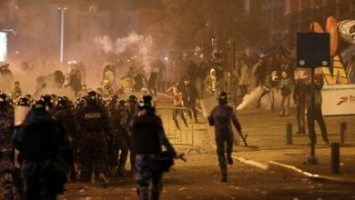 Photo of Protesters, security forces clash in downtown Beirut, Lebanese capital sees some of worst violence in months of demonstrations