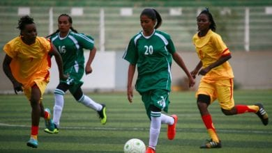 Photo of Sudan's first female football stars push for women's rights