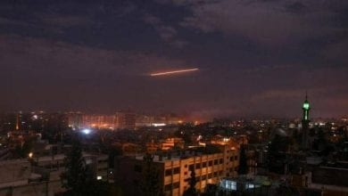 Photo of Syrian air defenses on Sunday night intercepted Israeli missile attack