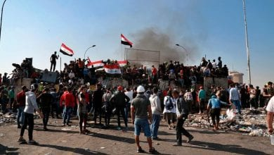 Photo of Thousands of protesters blocked roads and public buildings in southern Iraq as deadline for new PM looms