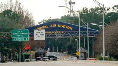"""صورة منذ هجوم قاعدة فلوريدا يصف أميركا بأنها"""" دولة شر"""""""