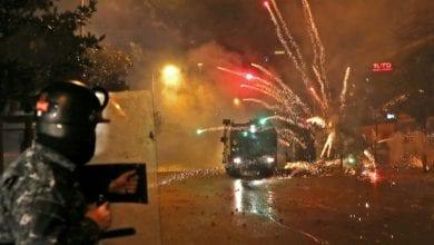 صورة الداخلية اللبنانية تناشد المتظاهرين بإخلاء الساحات درءاً للأخطار والفتن