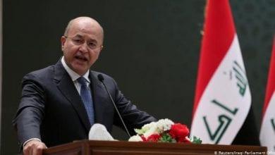 Photo de Le président irakien Barham Saleh se déclare prêt à démissionner