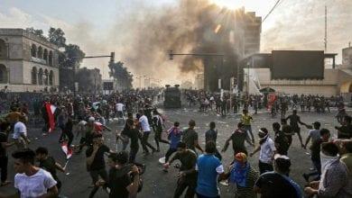 Photo de Des manifestants irakiens coupent les routes contre la nomination de Qoussaï al-Souheil