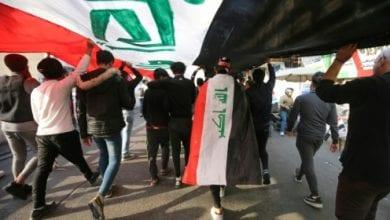 Photo de Les Irakiens divisés en face de démission du président Saleh