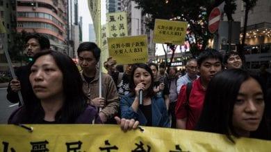 Photo de Les manifestants pro-démocratie sont retournés dans les rues de Hong Kong