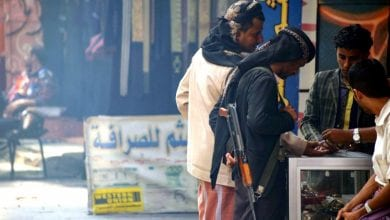 صورة سخط الشعبي جراء ممارسات حزب الإصلاح الإخونجي في محافظة تعز اليمنية